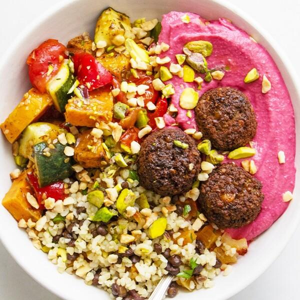 Rainbow Falafel Mezze image