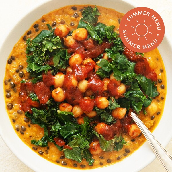 Kale + Chickpea Daal image