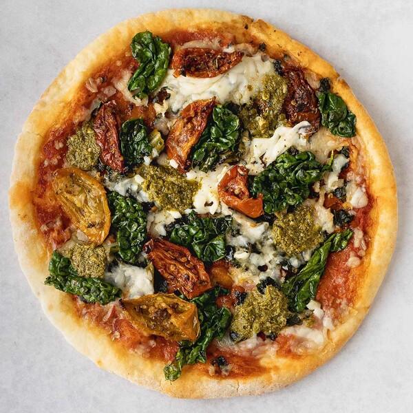Kale + Sunblush Tomato Pizza