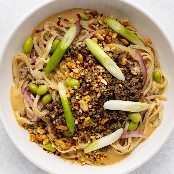 Spicy Szechuan Noodles image