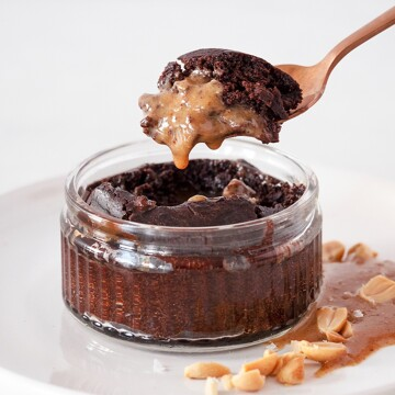 Chocolate Peanut Fondant