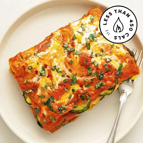 Roasted Veggie Lasagne image