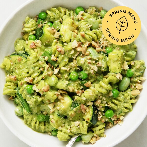 Creamy Pesto Greens image